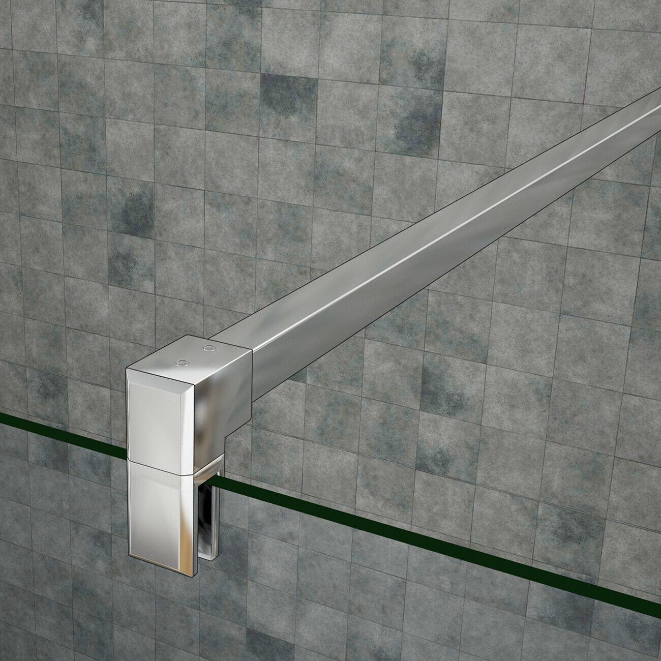 Faltbare+drehbar Walk NANO ESG-glas Duschtrennwand Duschabtrennung Bodengleich