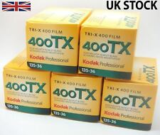 5 Pack: Kodak TRI-X 400 TX 35mm 36 esposizioni iso400 B&W pellicola negativa
