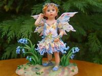 LTD ED WOODED BLUEBELL FAIRY FAERIE POPPETS C.Haworth