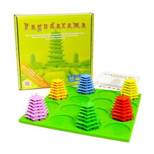 PAGODARAMA Add-On Quxacto Series Board Game with Qu-MAT (Blue)