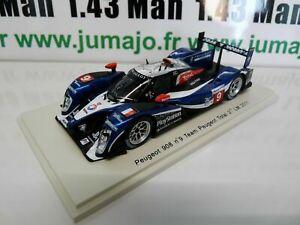 NE1-24-heures-du-Mans-VOITURE-1-43-SPARK-PEUGEOT-908-2011-9-Bourdais-Lamy
