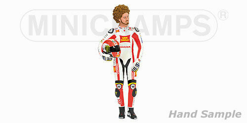 Marco Simoncelli Figurine MotoGP 2011 Posing 1 6 362110058 lim.ed.558pcs