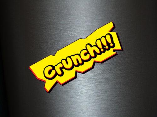 1 x Aufkleber Crunch!! Bang Boom Pang Spruch Comic Sticker Tuning Decal Fun Gag
