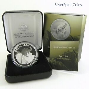 2010-KANGAROO-PROOF-Silver-Coin