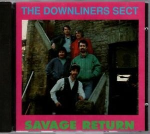 The Downliners Sect -  Savage Return - CD Album 1991 auf Promised Land 456780