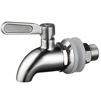 1 X Stainless Workstm Stainless Steel Beverage Dispenser Replacement Spigot(poli on sale
