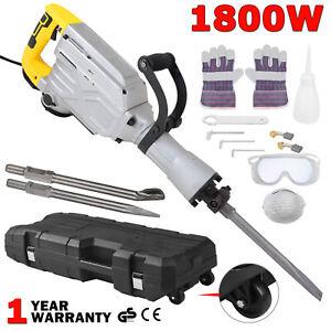 1800W-Electric-Demolition-Hammer-Breaker-Jack-Drill-Concrete-Hammer-Power-Tool
