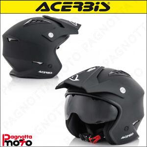 Acerbis casco jet aria nero 2 s
