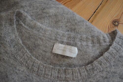38 Pullover Ceinture American Mohair M chin gris Vintage z4xzZIqP