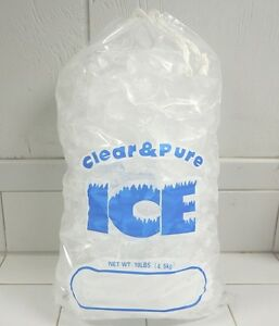 Image Is Loading Clear Amp Pure Ice 10 Lb Drawstring