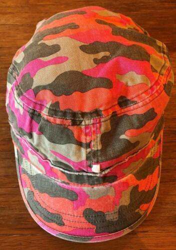 New Boys Summer Fisherman Style Cap Exstore Next Pink Orange 100/% Cotton 11-13Y