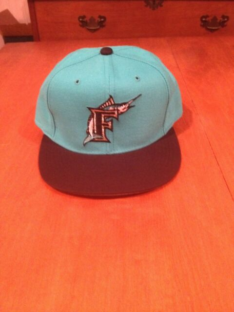 331742e67 Florida Marlins New Era Fitted Hat new 5950 MLB Baseball Diamond Collection