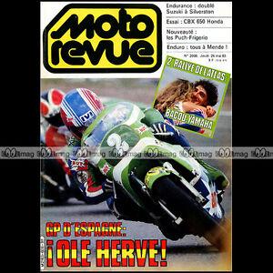 MOTO-REVUE-2608-PUCH-ROTAX-125-250-500-FRIGERIO-CBX-600-HONDA-250-6-RC-166-83