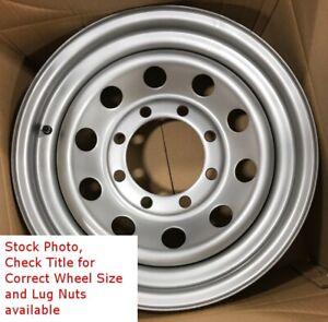 15-Inch-New-Trailer-Wheel-15x6-6on5-5-6x5-5-6-Bolt-6-Lug-Silver-Mod-Rim-SIL