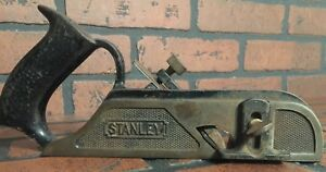 Details About Vintage Stanley No 190 Rabbet Plane Nice Woodworking Tool With Depth Stop