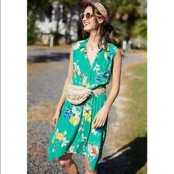 8c5272e2a83 Rory Shirtdress Dress size 14 new with tag ANTHROPOLOGIE nsegqn9355 ...