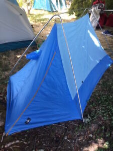 Image is loading VINTAGE-White-Stag-Backpacking-039-High-Country-039- & VINTAGE White Stag Backpacking u0027High Countryu0027 2 Man Pup tent- c1978 ...