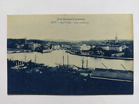 Bayonne France Vintage blue Postcard c1920s General view
