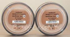 Bareescentuals bareminerals Medium Tan C30 8g XL foundation SPF 15 ---> LOT of 2