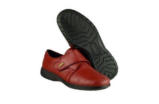 Cotswold Waterproof leather touch fastening fastening fastening schuhe s Cranham Col Burgundy Größe 8 aadab9