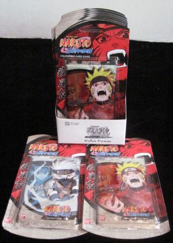 Naruto Broken Promise TCG CCG Blister Booster Pack Box 15 Packs 10 Cards//Pack