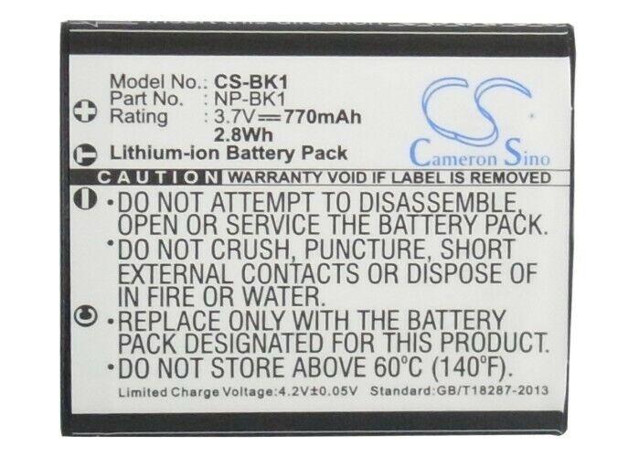 Cameron Sino Camera Battery CS-BK1 for SONY Cyber-shot DSC-S950P etc     Centurion   Gumtree Classifieds South Africa   479901418