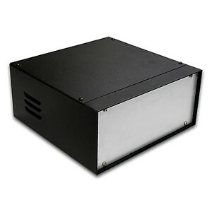 "SH1073 8.7"" DIY Metal Instrument Enclosure Electronic Chassis Case"