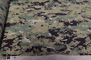 Camo Green Assault 2 Layer Gore Tex Taslite Nylon Fabric 58 Wide Camouflage Military