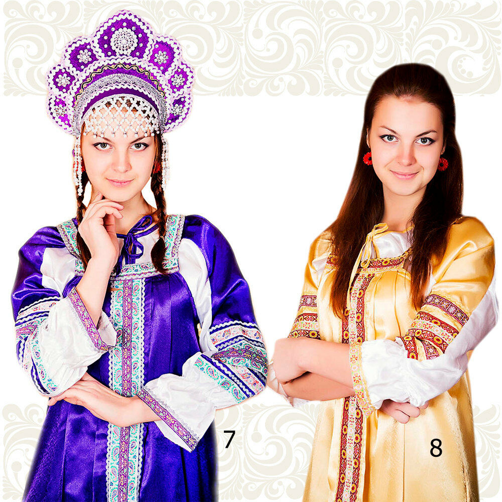 Catin costume for women, russian historical clothes, russian dress