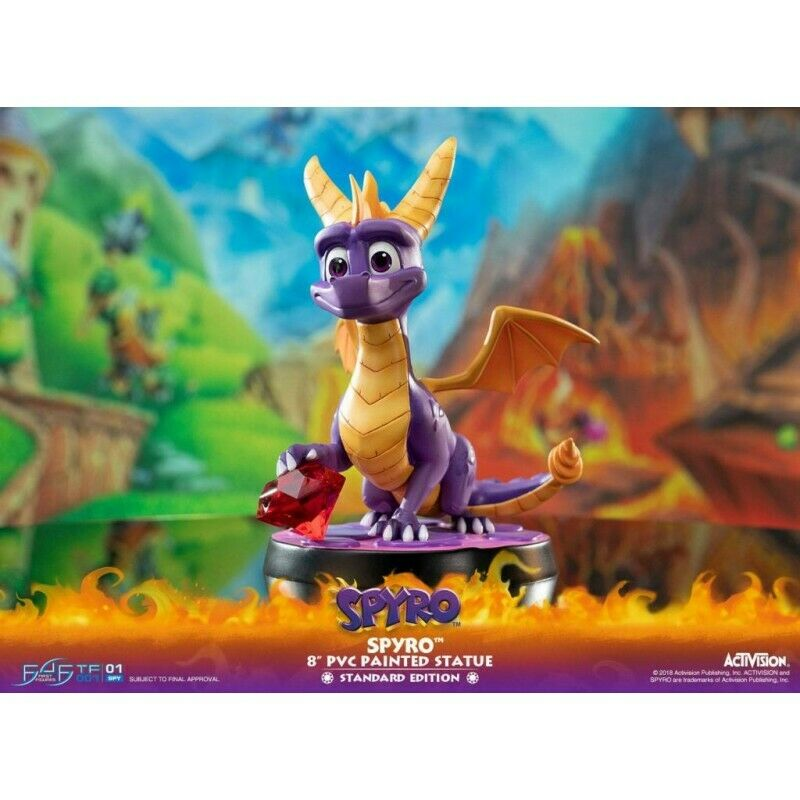 ACTIVISION - Spyro The Dragon PVC Statue - 20cm first 4 figure