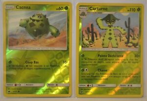 Cartes-Pokemon-CACNEA-5-111-PV-60-CACTURNE-6-111-PV-110-REVERSE-NEUVES