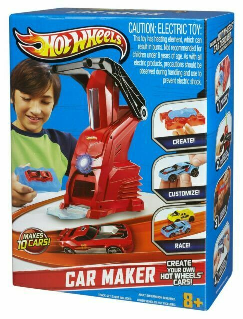 Hot Wheels Car Maker Playset For Sale Online Ebay