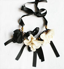 BEAUTIFUL MARNI 3 FLOWERS NECKLACE – NEW DUSTBAG