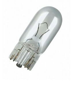 AMPOULE-OSRAM-12V-3W-WEDGE-W3W-W2-1x9-5D-LAMPE-TEMOIN-COMPTEUR-CLIGNOTANT-AUTO