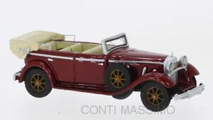 Closed Convertible beige BoS-Models Mercedes 770 1930-1:87 W07 #87726
