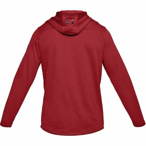 New $55 Under Armour Men/'s French Terry Tech Popover Lightweight Hoodie Train