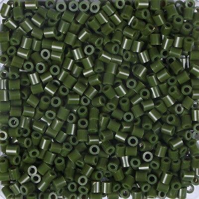 Fuse Beads Eine Hohe Bewunderung Gewinnen Zielstrebig Artkal 1000 Midi Bügelperlen 5mm Forrest Green S151 Basteln & Kreativität Perlen