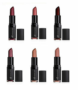 E.L.F. Studio Moisturizing Lipstick NIP choose color ELF Lips Eyeslipsface