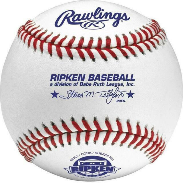White for sale online Rawlings RCAL1 Cal Ripken League Competition Grade Baseball 12 Pieces