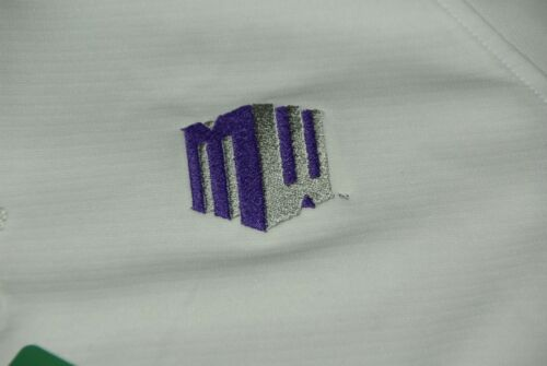 Mountain West athletic conference Polo shirt purple MW Male