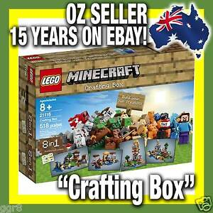 21116-LEGO-MINECRAFT-034-Crafting-Box-034-Mine-Craft-RARE-LIMITED-IN-STOCK-NOW
