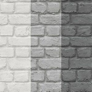 tapete stein ziegelstein steinwand mauer 3 verschiedene farben von rasch ebay. Black Bedroom Furniture Sets. Home Design Ideas