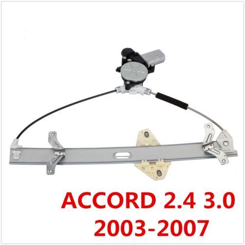 Power Window Regulator for Honda Accord 2.4L 3.0L V6 Sedan 2003-2007 Right Front
