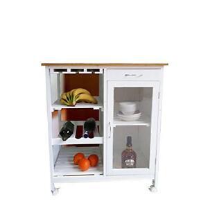 küchenwagen servierwagen rolltisch arbeitsplatte küche rollwagen ... - Rolltisch Küche