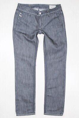 """""""keyute"""" Diesel Grigio Jeans Gamba Dritta W25 L29-mostra Il Titolo Originale"""