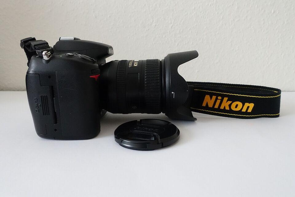Nikon D7000, spejlrefleks, 16,2 megapixels