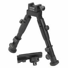 "CCOP USA 6"" Tactical Hunting Rifle Picatinny Swivel Stud Mount Bipod BP-59MINI"