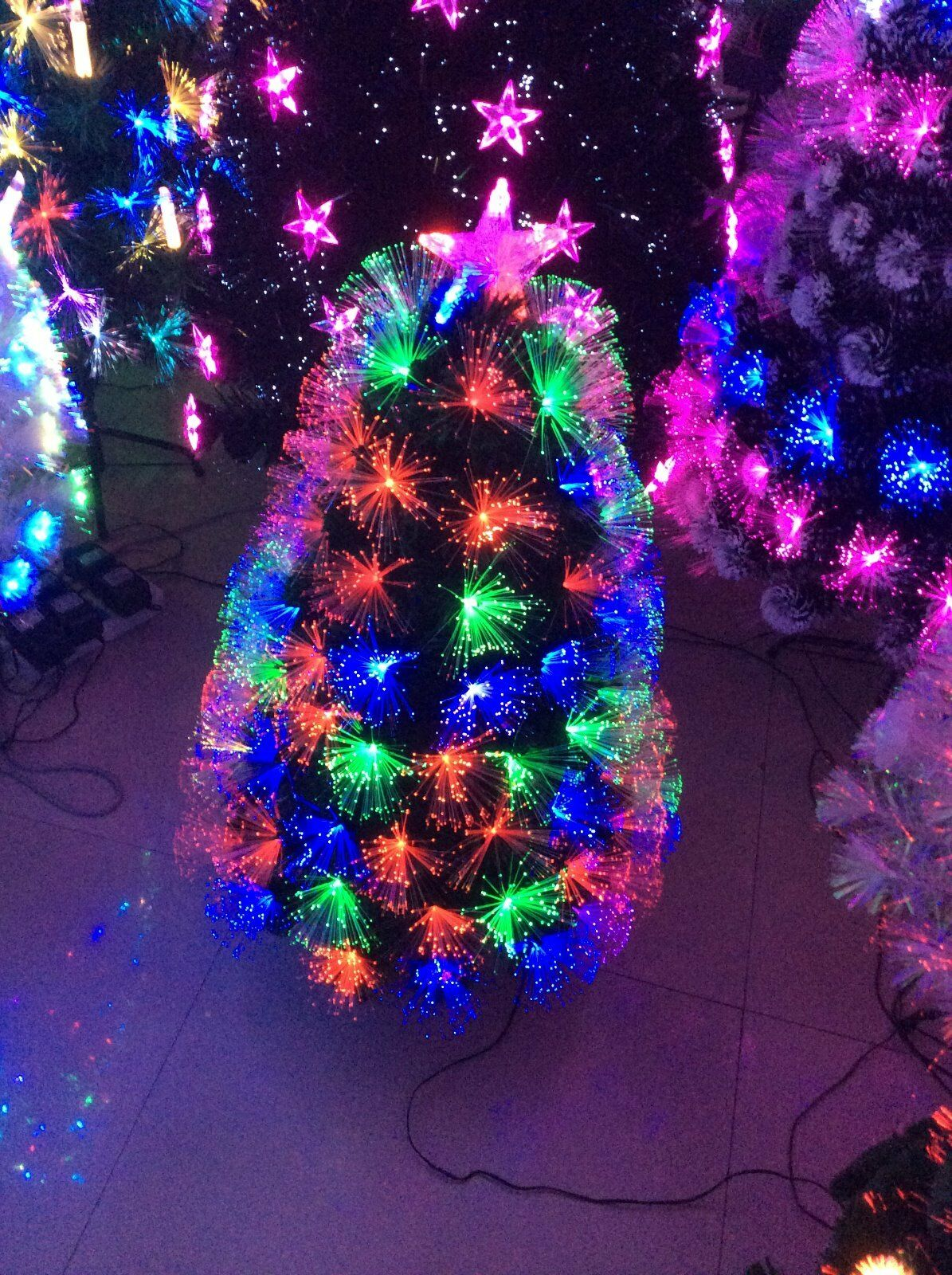 CHRISTMAS TREE FIBRE OPTIC -60CM- AWESOME XMAS TREE.SALE NOW ON
