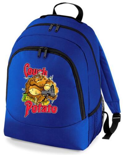 BNWT Drôle Cadeau Couch Potato Sac à dos Sac à dos sac d/'école