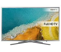 "SAMSUNG UE32K5600 32"" SMART WIFI LED TV SILVER FULL HD 1080P FREEVIEW 2016 MODEL"